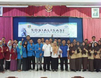 Sosialisasi Internet Sehat di Aula Dinas Pendidikan